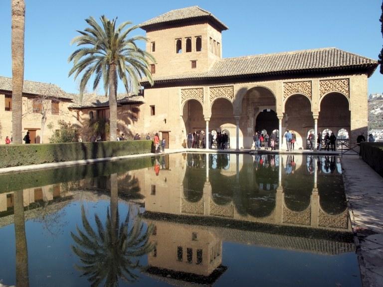 Gesamtansicht 1:  Alhambra, Granada, Spanien