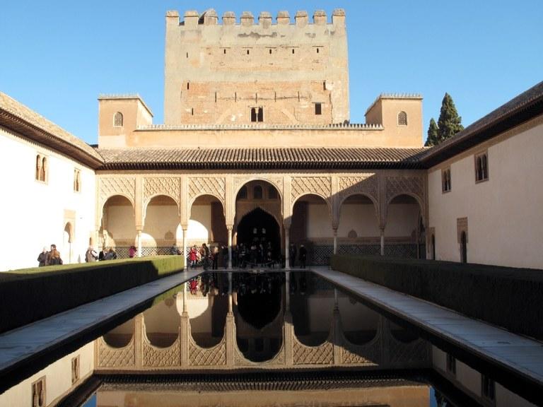 Gesamtansicht 2:  Alhambra, Granada, Spanien