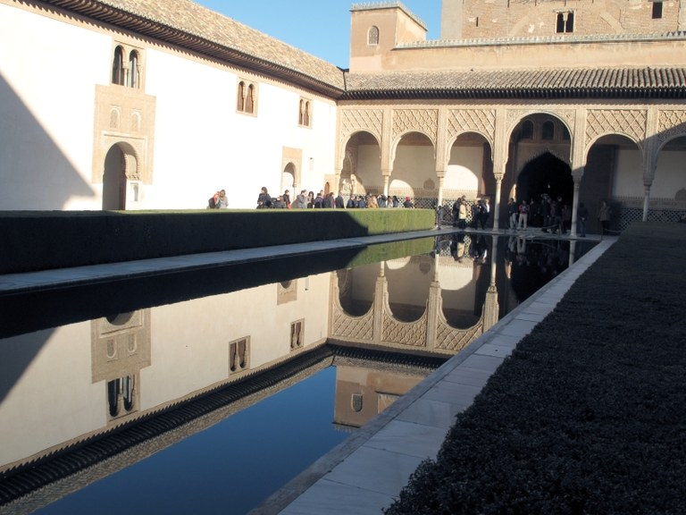 Gesamtansicht 3:  Alhambra, Granada, Spanien