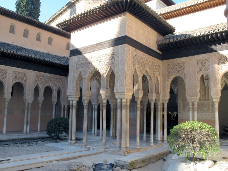 Innenhof 3:  Alhambra, Granada, Spanien