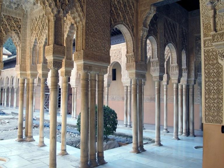 Innenhof 2:  Alhambra, Granada, Spanien