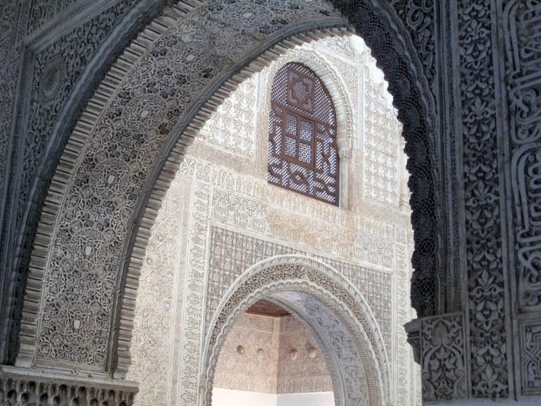 Torbögen 4: Alhambra, Granada, Spanien