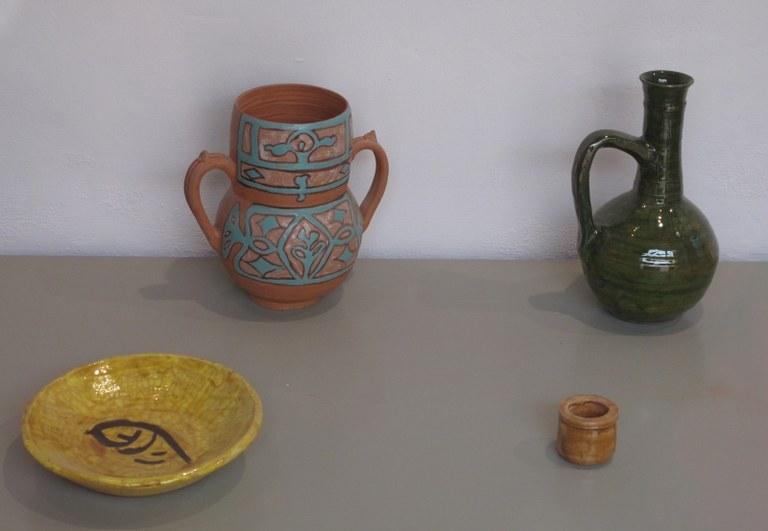 Gebrauchskeramik: Alcazaba, Almeria / Spanien