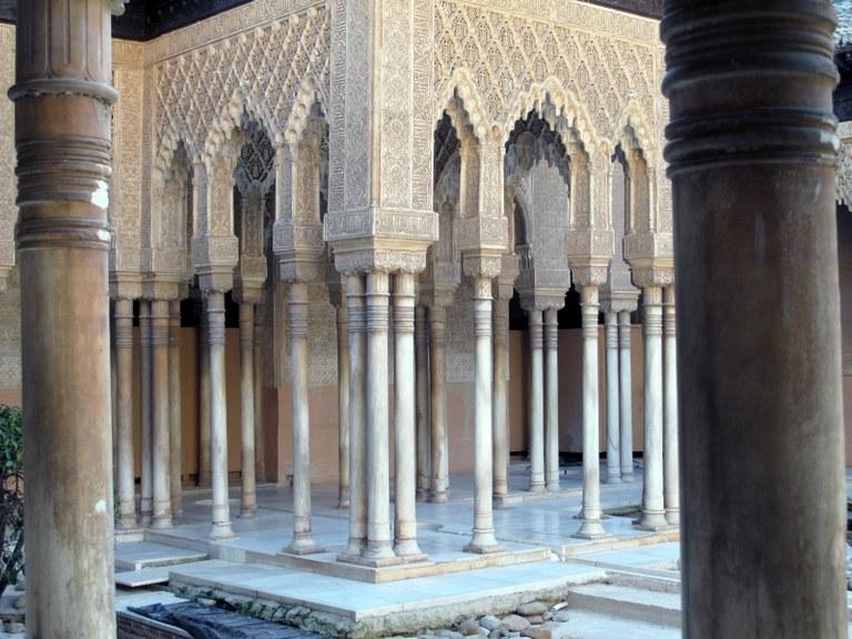 Innenhof 4:  Alhambra, Granada, Spanien