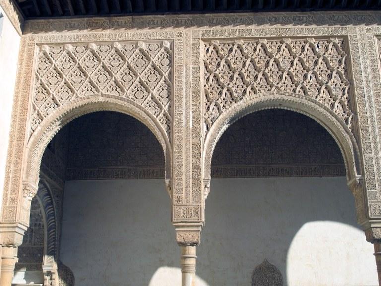 Torbögen:  Alhambra, Granada, Spanien