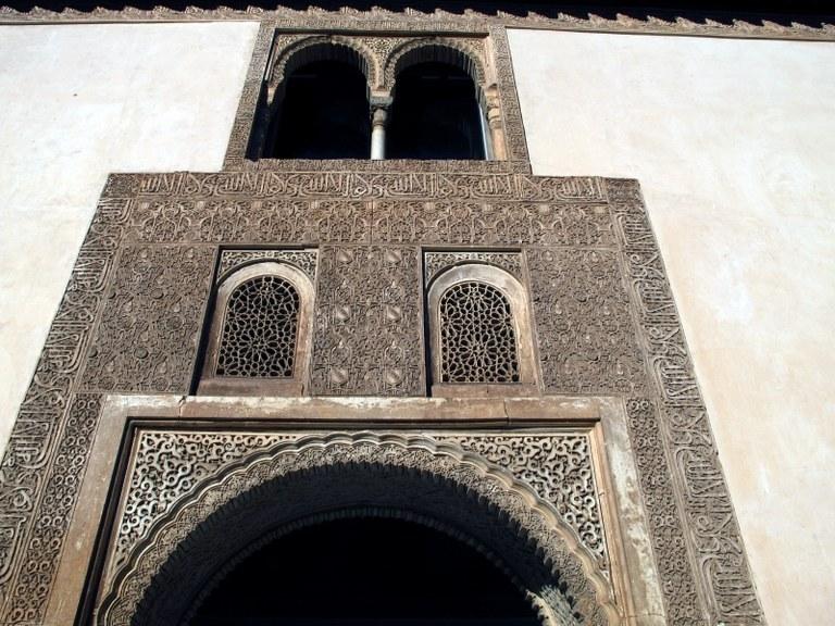 Torbogen 3:  Alhambra, Granada, Spanien
