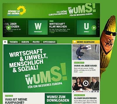 Website der Grünen