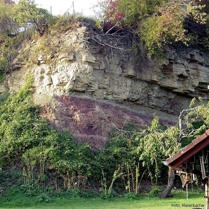 Schichtgrenze Buntsandstein-Muschelkalk