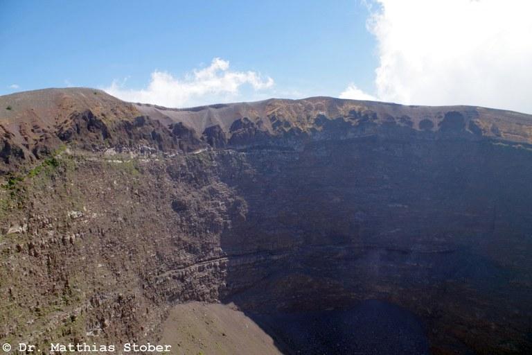 Krater des Vesuvs