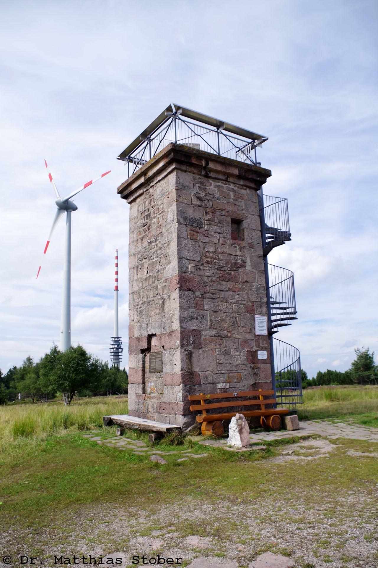 Bismarckturm auf der Hornisgrinde
