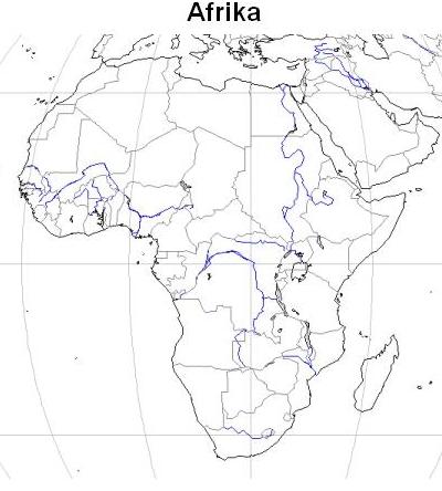 Stumme Karte Afrika.Karten Kontinente Welt Landesbildungsserver Baden Württemberg