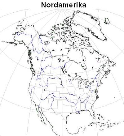Stumme Karte Nordamerika.Karten Kontinente Welt Landesbildungsserver Baden Württemberg