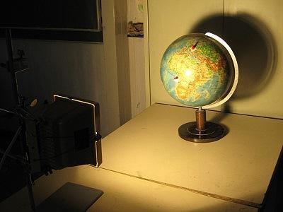 Beleuchtung Globus