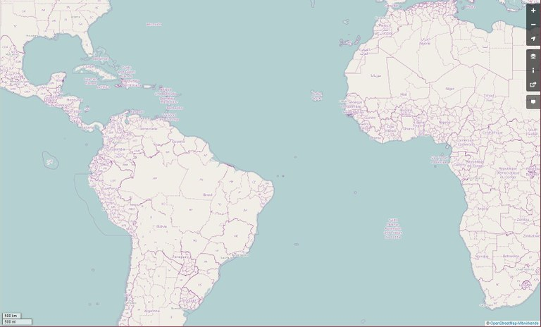 OpenStreetMap Atlantik