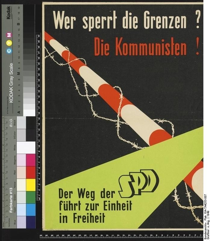 Der Weg der SPD führt zur Einheit in Freiheit.