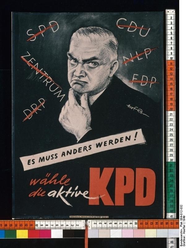 Wähle die aktive KPD!