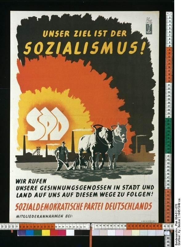 Unser Ziel ist der Sozialismus!