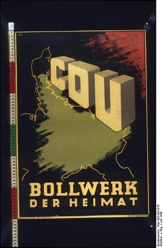 CDU: Bollwerk der Heimat