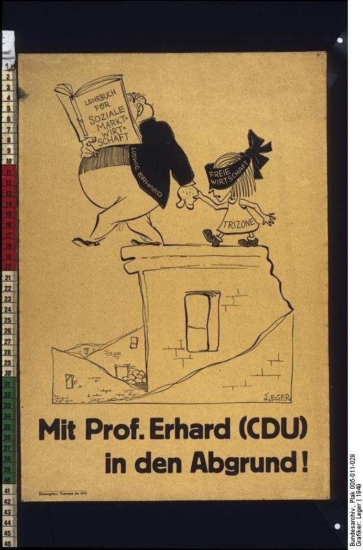 Mit Prof. Erhard (CDU) in den Abgrund