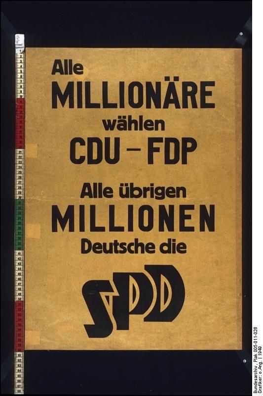 Alle Millionäre wählen...