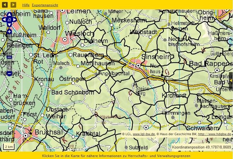 Kraichgau 1790