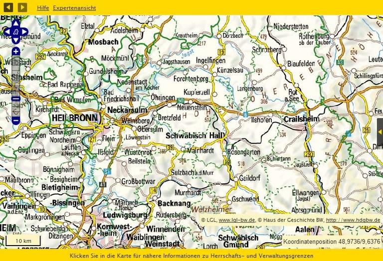Nordwürttemberg 1815