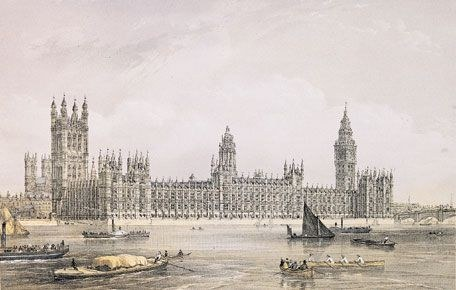 Houses of Parliament 1852
