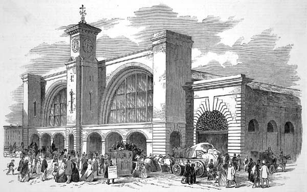 King's Cross Station, 1852