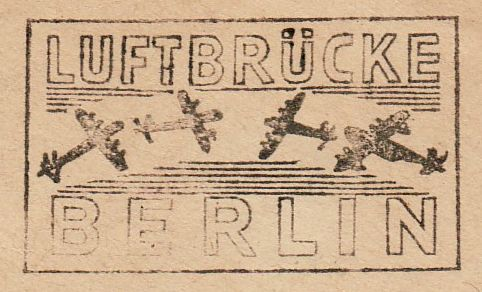 Stempel: Luftbrücke Berlin