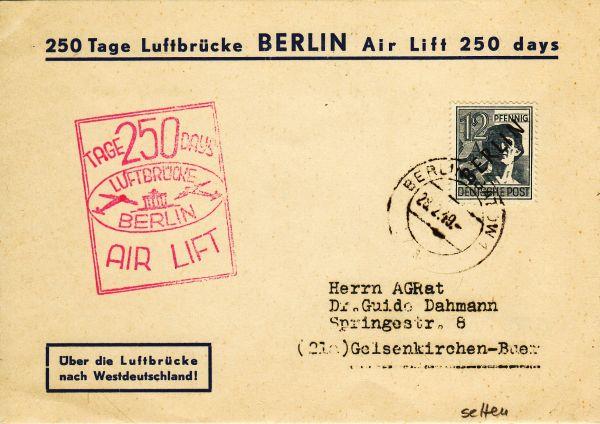 Postkarte: 250 Tage