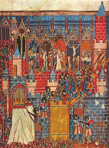Die Eroberung von Jerusalem beim Ersten Kreuzzug 1099