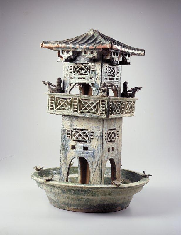 Wachturm an der Han-Mauer