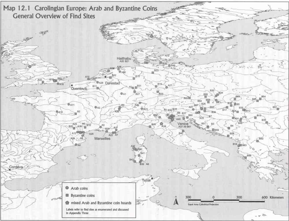 Münzfunde im karolingischen Europa