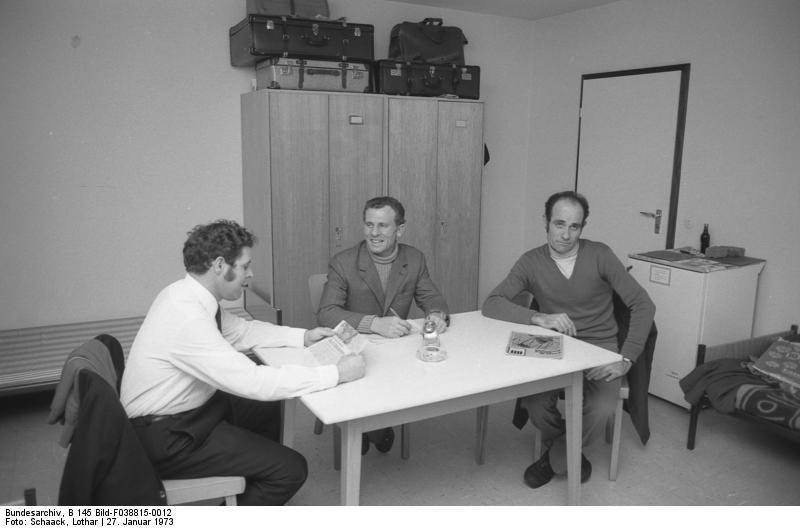Unterkunft von Gastarbeitern, VW-Werk Wolfsburg