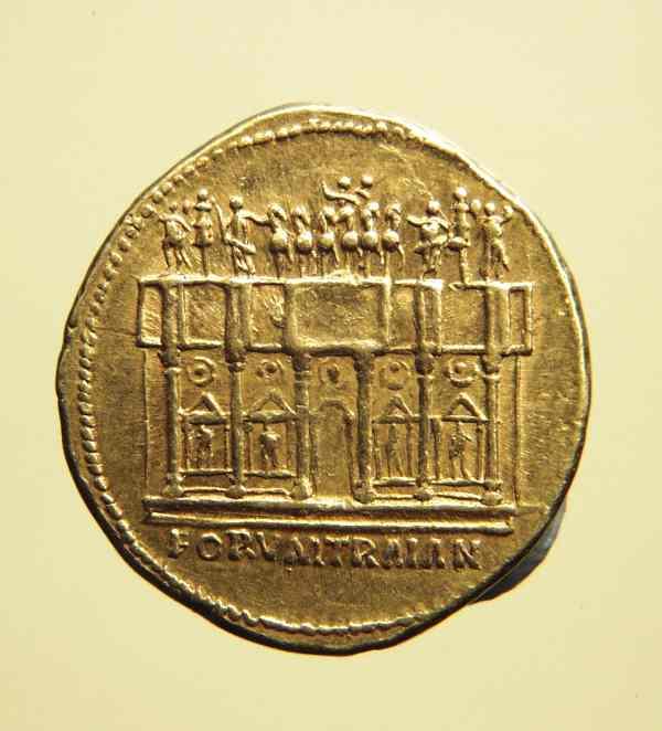 Aureus des Trajan