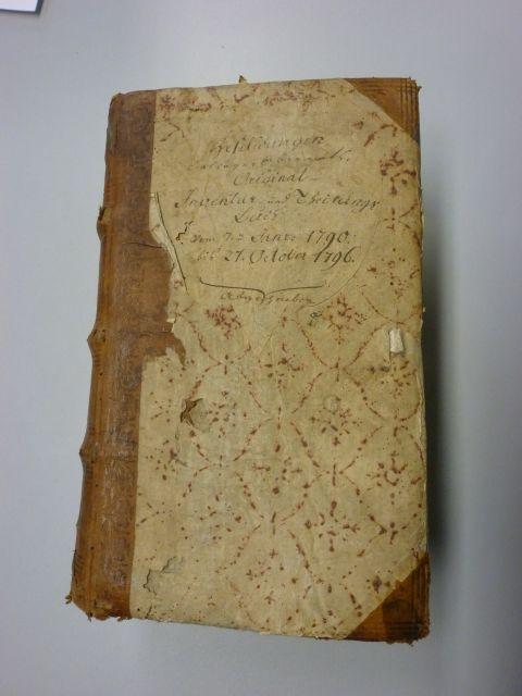 Inventur- und Teilungsbuch Heselwangen 1790-96