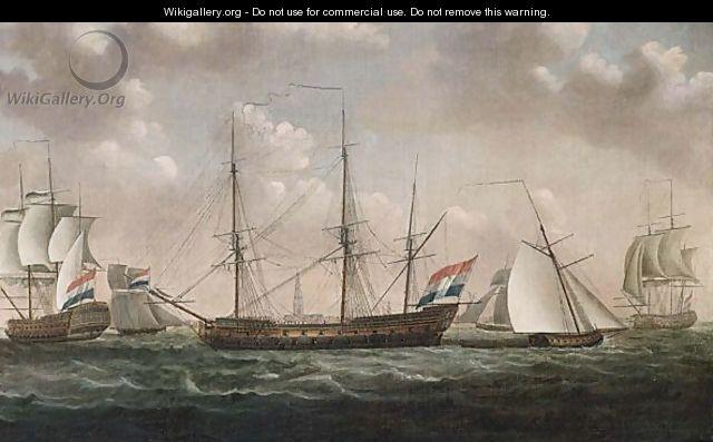 Hoogerheyden: Die hollänische Flotte