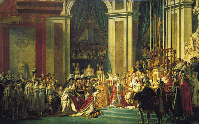 The Coronation of Napoleon, Jacques-Louis David, 1805-08