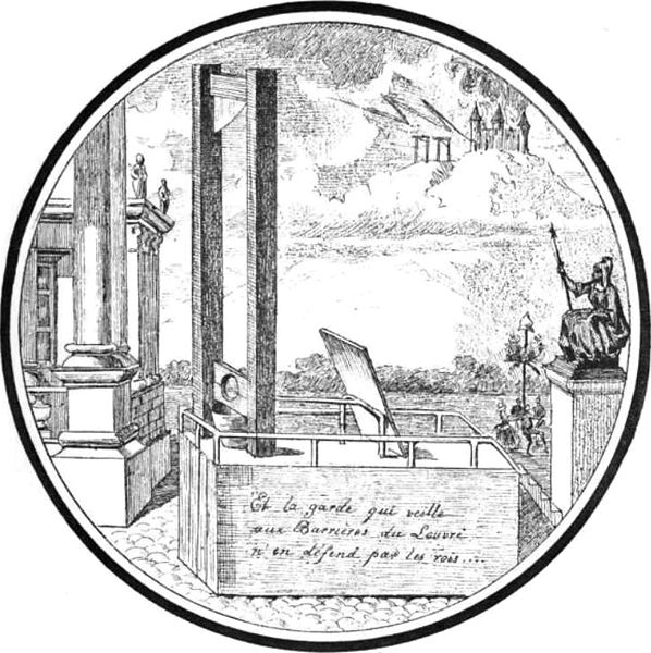 The Guillotine during the French Revolution, late 18th century