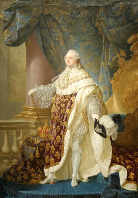 Louis XVI, King of France, Antoine-François  Callet, 1781