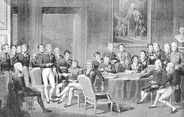 The Congress of Vienna, Jean-Baptiste Isabey, 1819