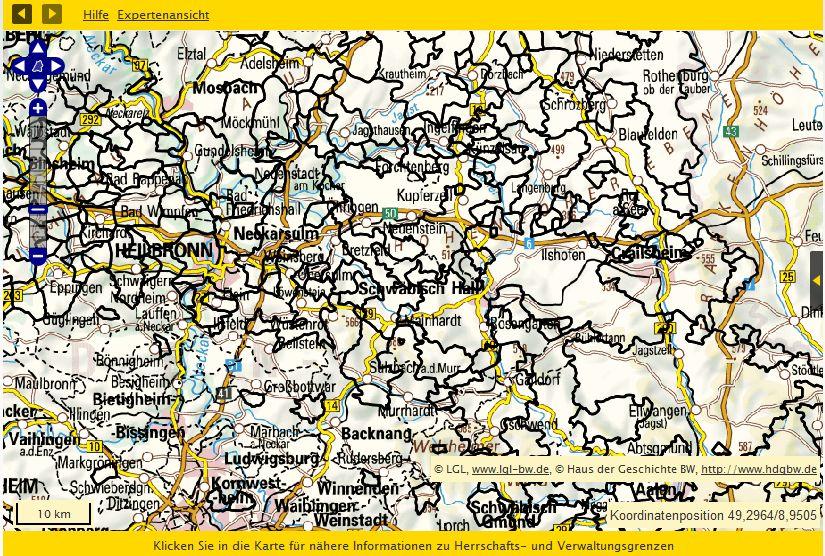 Nordwürttemberg 1790