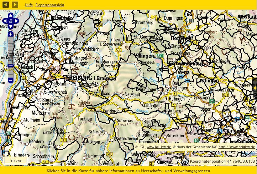Südliches Baden 1790