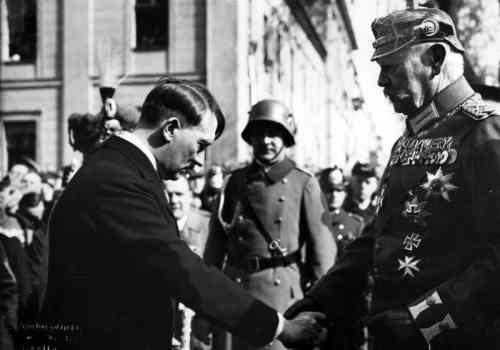 Der Tag von Potsdam: Hitler verbündet sich mit dem alten Preußen