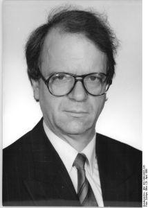 Richard Schröder, Vorsitzender der SPD-Volkskammerfraktion bis August 1990