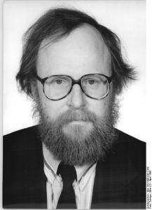 Wolfgang Thierse, Vorsitzender der SPD-Volkskammerfraktion ab August 1990