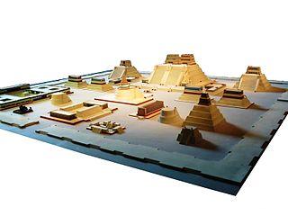 Tenochtitlan im Modell