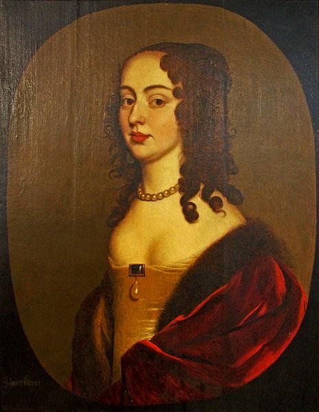 Gerrit van Honthorst: Sophie von Hannover, vormals Sophie von der Pfalz, etwa 1650