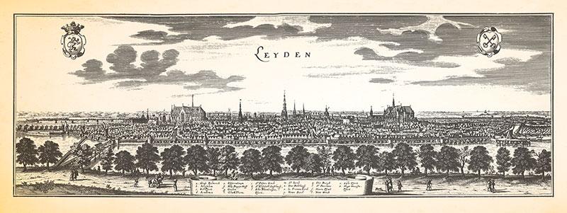 Die Stadt Leyden im 17. Jahrhundert