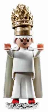 Papst Martin V. als Playmobilfigur